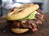 Ribeye-truffle sandwich